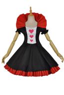 Re: Zero − Starting Life in Another World Ram Cosplay Alice in Wonderland Queen of Hearts Maid Cosplay Costume