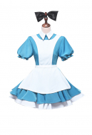 Re: Zero − Starting Life in Another World Alice in Wonderland Rem Maid Cosplay Costume