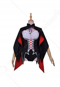 Re Zero Starting Life in Another World Rem Halloween Little Devil Witch Cosplay Costume