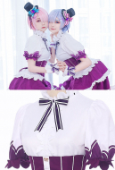 Re Zero Starting Life in Another World Ram Rem Birthday Cosplay Maid Costume Outift
