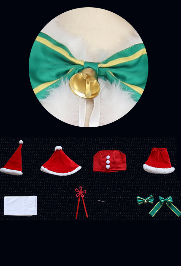 Re:Zero − Starting Life in Another World Rem Weihnachten Cosplay Kostüm Outfit