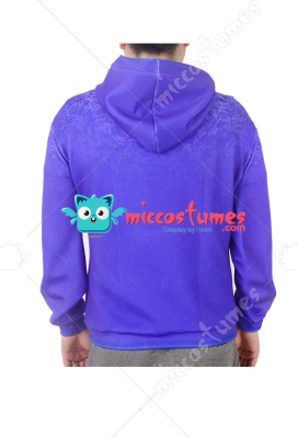 [Free US Economy Shipping] Rise of the Guardians Jack Frost Hoodie Cosplay Costume Outfit