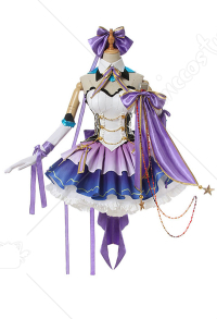 Re: Zero Starting Life in Another World Emilia Idol Costume Fullset Cosplay Costume