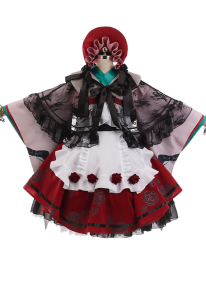 Miaowucos Rozen Maiden Pure Ruby Cosplay Costume