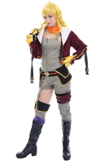 RWBY 7 Blake Yang Xiao Long Cargo Suit Cosplay Costume Full Set with Scarf