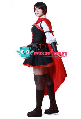 RWBY Season 4 Ruby Red Rose Cosplay Costume