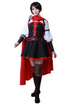 RWBY 4 Ruby Red Rose Cosplay Costume