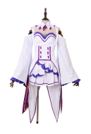 Re:Zero Starting Life in Another World Emilia Cosplay Costume
