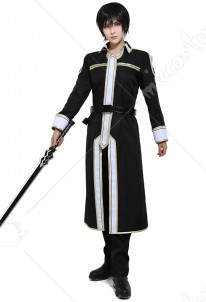 Sword Art Online Alicization Kirigaya Kazuto Kirito Cosplay Costume Uniform