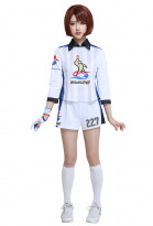 PM Sword & Shield Gloria Female Gym Uniform Cosplay Costume