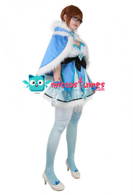 [Miccostumes x Shourca]Overwatch Magical Girl Mei Cosplay Costume