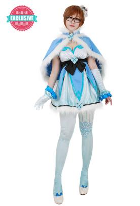 [Miccostumes x Shourca]Overwatch Magical Girl Mei Cosplay Costume