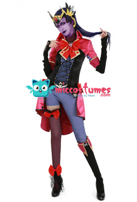 [Miccostumes x Shourca]Overwatch Magical Girl Widowmaker Cosplay Costume with Headdress