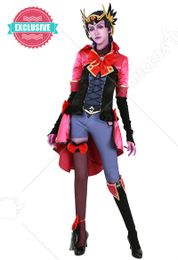 [Miccostumes x Shourca] Overwatch Magical Girl Costume de Cosplay Widowmaker avec Coiffe