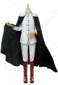 Bungo Stray Dogs Fyodor Dostoevsky Shirt Full Set with Cloak Cosplay Costume