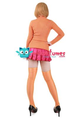 Scooby-Doo Velma Dinkley Cosplay Costume