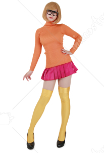 Scooby-Doo Velma Dinkley Cosplay Costume