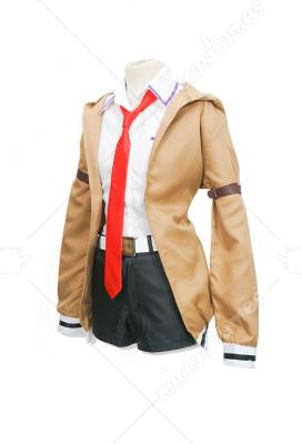 Steins Gate Zero Anime Cosplay Kurisu Makise Cosplay Costume Coat+Shirt+Shorts