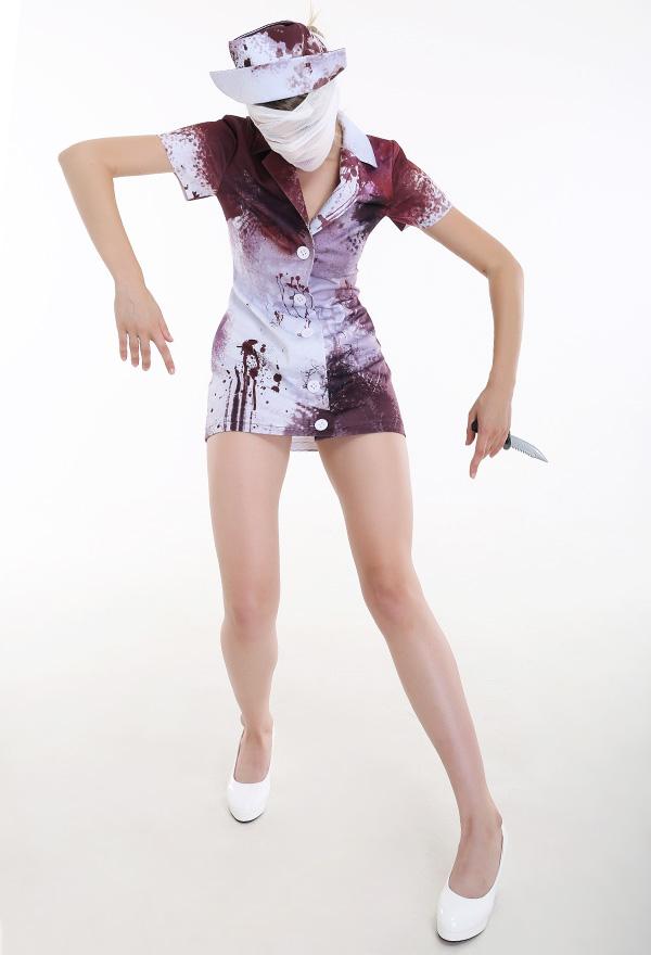 Silent Hill Krankenschwester Cosplay Kostüm