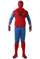 Spider Boy Homecoming Cosplay Costume Spider Suit with Hoodie