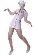 Silent Hill Nurse Cosplay Costume