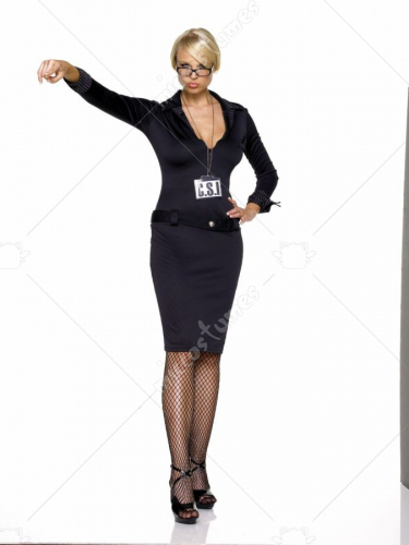 CSI Dress Adult Costume
