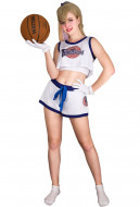 [Free Shipping]Space Jam Lola Bunny Rabbit Cosplay Costume with Rabbit Bunny Ears