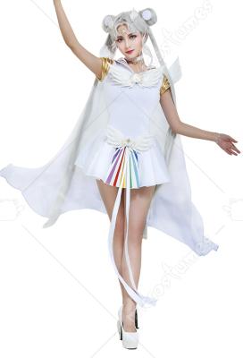 Exclusive Sailor Moon Sailor Cosmos Chibi Chibi Cosplay Costume Dress