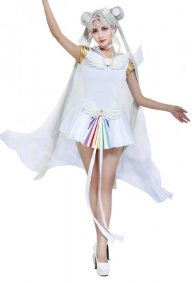 Exclusive Sailor Moon Sailor Cosmos Chibi Chibi Cosplay Costume Dress