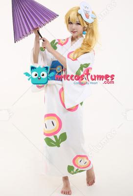 Odyssey Princess Peach Kimono Cosplay Costume