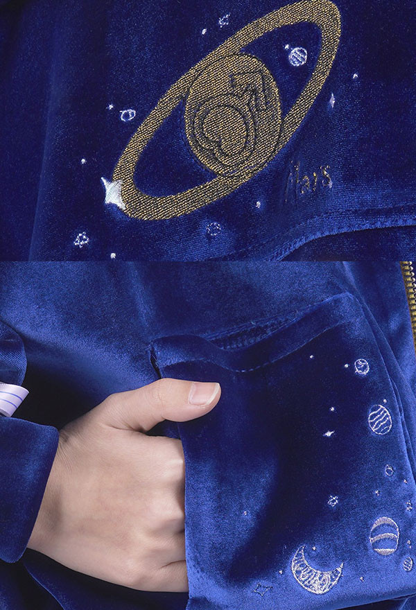 Sailor Moon Sailor Mars Rei Hino Straßenmode Freizeitbekleidung Cosplay Kostüm