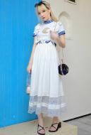 Sailor Moon Tsukino Usagi Cosplay Casual Wear Dating Costume