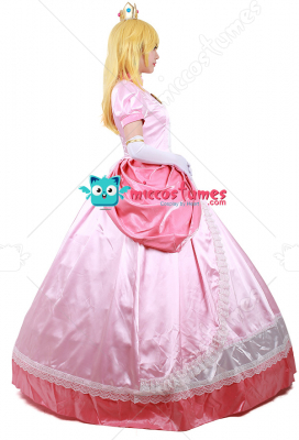 Princess Peach Cosplay Costume  sc 1 st  Miccostumes.com & Princess Peach Costume | Adult Princess Peach Cosplay Party Dress