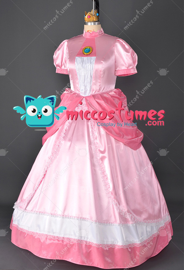 987cfcd96d6 Princess Peach Costume - Mario Cosplay | Top Quality Dress for Sale