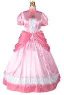 Plus Size Princess Peach Cosplay Costume