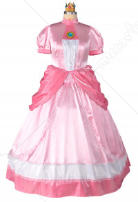 Plus Size Princess Peach Cosplay Costume