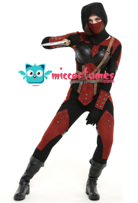Dark Brotherhood Female Cosplay Costume Set with Mask and Hood
