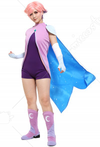She-Ra Glimmer Cosplay Costume with Cape