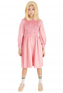 [Free US Economy Shipping] Stranger Things Eleven Pink Dress Girls Dress Costume