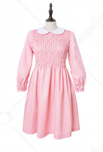 Plus Size Stranger Things Eleven Pink Dress Girls Dress Costume