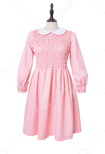 [Free US Economy Shipping] Plus Size Stranger Things Eleven Pink Dress Girls Dress Costume