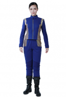 Star Trek Online Escalation Discovery Starfleet Uniform Cosplay Costume for Female