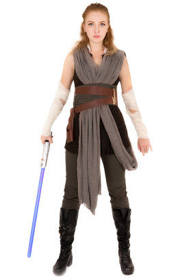 Scavenger Rey Cosplay Costume Inspired by Star Wars The Last Jedi