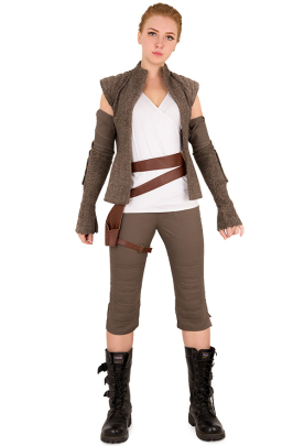 Jedi Rey Cosplay Costume Inspired by Star Wars The Last Jedi