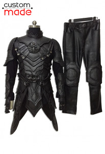 Deluxe Handmade The Elder Scrolls V: Skyrim Nightingale Cosplay Costume Including Mask