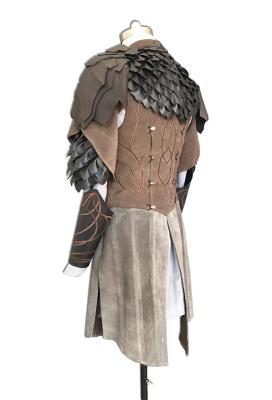 Deluxe Handmade The Hobbit Sindarin Elf Legolas Cosplay Costumes with Boots
