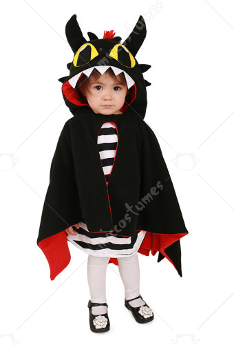 Kids Dragon Little Devil Cosplay Costume