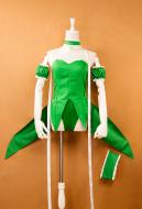 Tokyo Mew Mew Retasu Midorikawa Mew Lettuce Lettuce Midorikawa Transformed Green Battle Suit Cosplay Costume