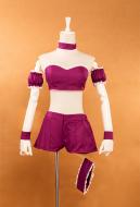 Tokyo Mew Mew Fujiwara Zakuro Mew Mew Zakuro Transformed Purple Suit Cosplay Costume