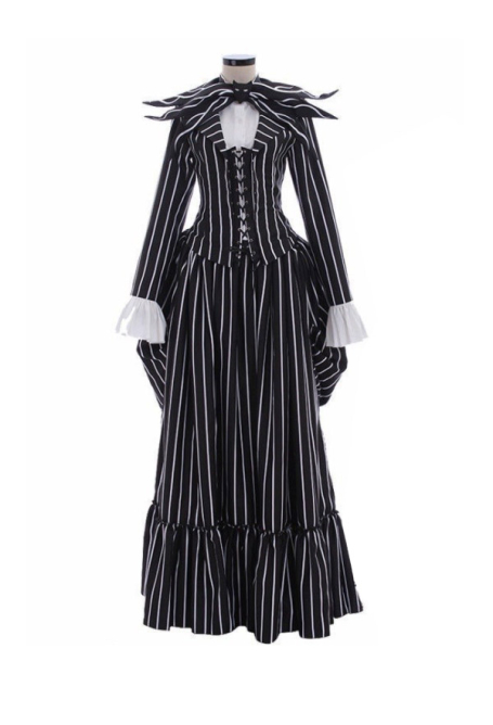 Halloween The Nightmare Before Christmas Cosplay Costume for Male and Female